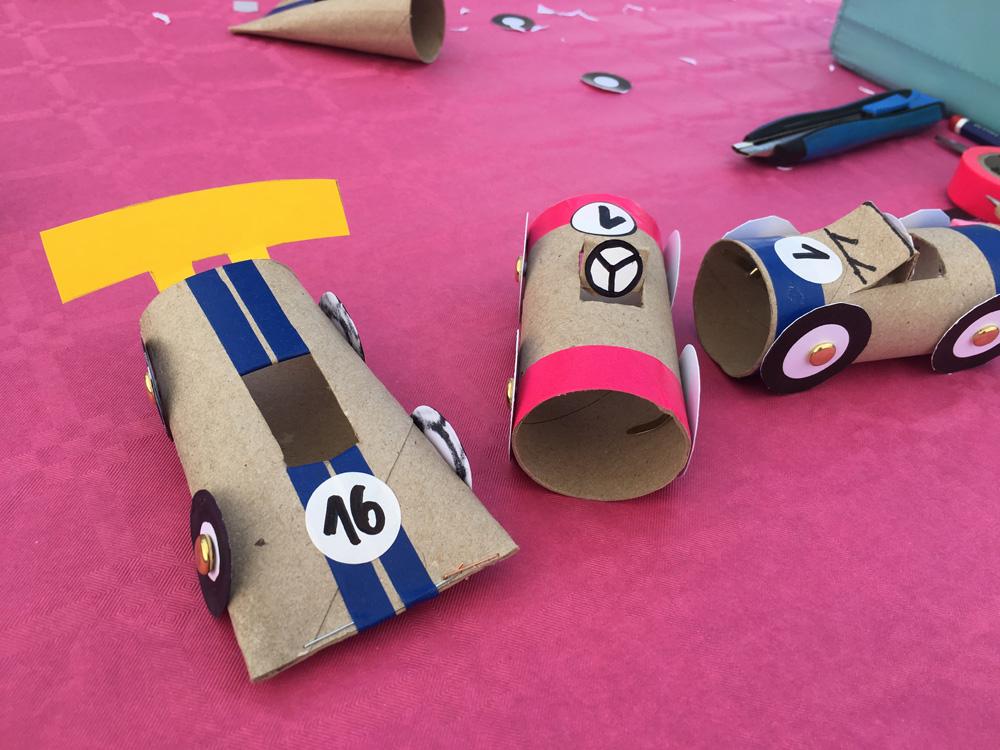 Cotxes de joguina reciclats