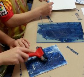 Taller de litografies infantils