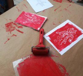 Taller infantil litografies