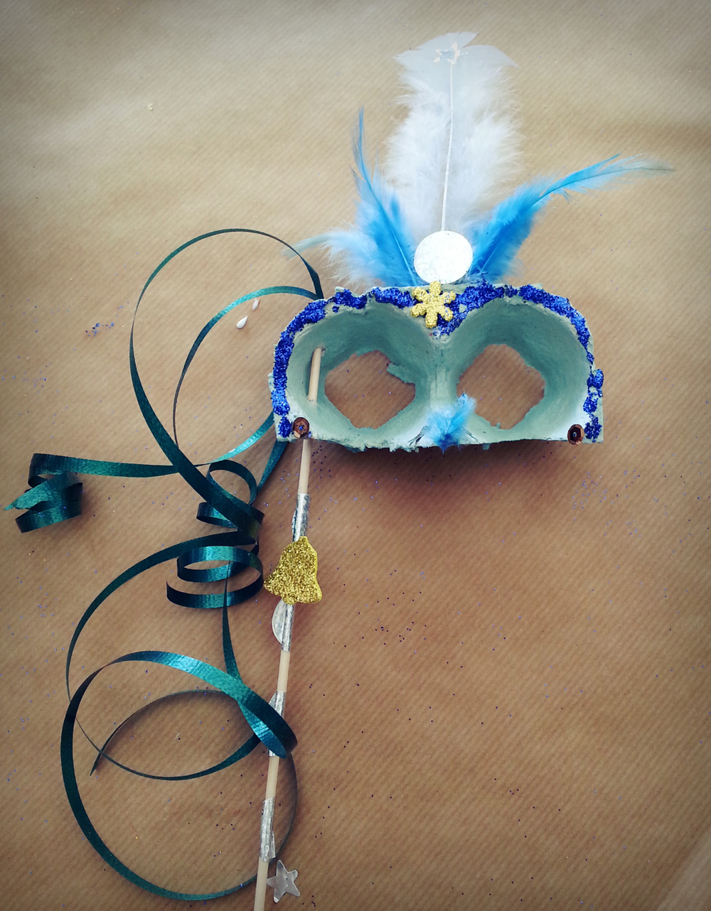 Taller de màscares venecianes Carnestoltes