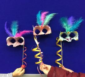 Taller de màscares venecianes