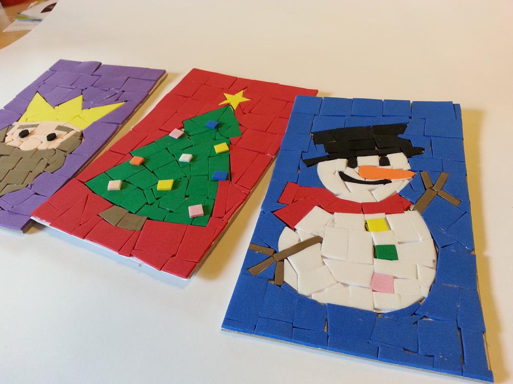 Taller de mosaics nadalencs