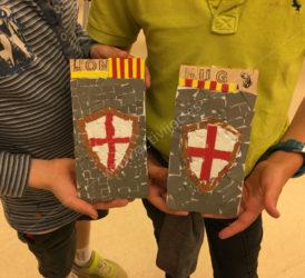 Taller mosaics Sant Jordi