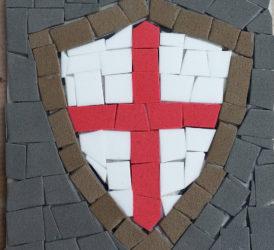 Taller de Sant Jordi. Mosaics